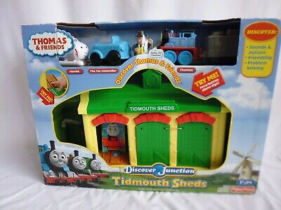 £54.99 • Buy Thomas And Friends Tidmouth Sheds Engine Depot Playset Discover Junction New