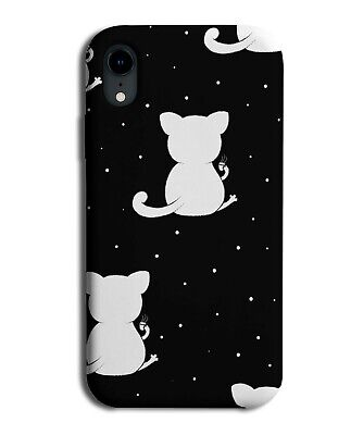£9.99 • Buy Black And White Cat Symbol Phone Case Cover Ears Ear Body Cats Cute Girls F243