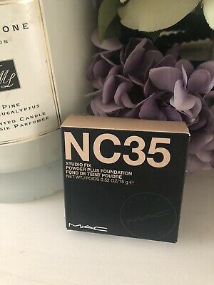 £14.99 • Buy MAC STUDIO FIX POWDER PLUS FOUNDATION Available In Shade NC 35 .