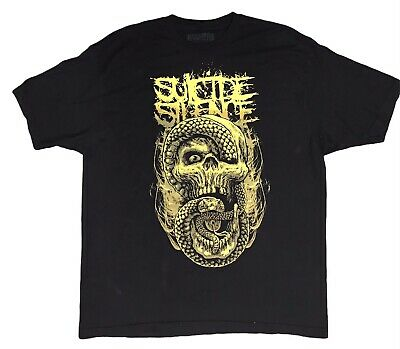 £11.62 • Buy Suicide Silence Rare Band T Shirt Size 2XL Black