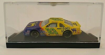 $15.99 • Buy JIMMY SPENCER SMOKIN' JOES CAMEL 1/64 RACE CAR W/BASE COVER By ACTION EUC