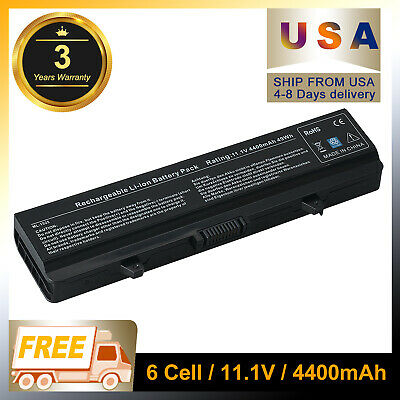 $12.34 • Buy NEW Battery For Dell Inspiron 1525 1526 1545 1546 1750 GW240 RN873 X284G M911G A