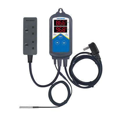 £26.34 • Buy Inkbird Only Heat Temperature Controller Thermostats ITC-306T Probe Timer C/F UK