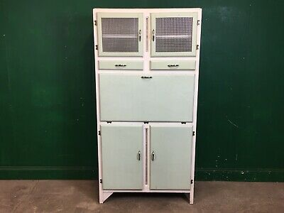 £135 • Buy Vintage Painted 1960's Kitchen Larder Cupboard Cabinet. Courier Available