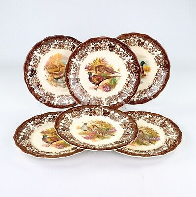 £45 • Buy Royal Worcester Palissy Game Series, 6 X Dinner Plates