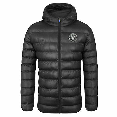 £49.99 • Buy Chelsea FC Mens Jacket Hooded Winter Quilted OFFICIAL Football Gift
