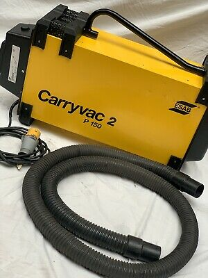 £800 • Buy ESAB Carryvac 2 110v Fume Extractor