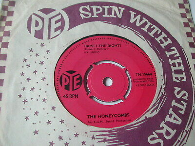 £1.59 • Buy The Honeycombs - Have I The Right - Pye 7