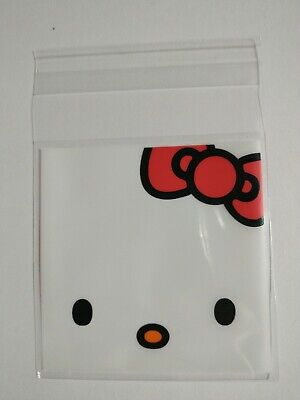 £2.30 • Buy Mini Cookie Bags/Treat Bags/Party Favours 25 Pack.7X7 Cm.Self Seal Hello Kitty F