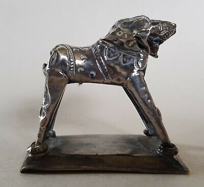 £32 • Buy Rare Antique Indian White Metal Toy Leopard