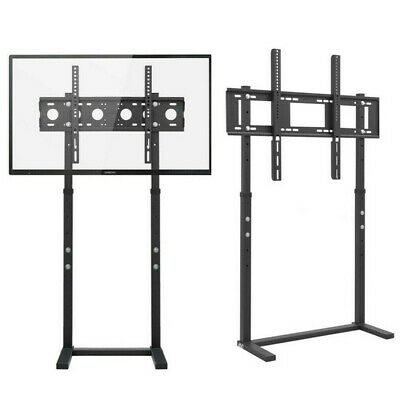 AU89.93 • Buy 117/132cm Tall Floor TV Stand With Bracket Mount 32-100 Inch Height Adjustable