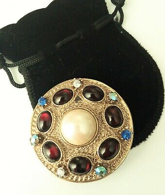 £10 • Buy Large Medieval Style Brooch, LARP, Re-enactment, Party, Costume, Theatre #773
