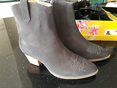 £44 • Buy Joules Elmwood Grey Ankle Boots. Size UK 6 EU 39. New In Box. BNWT