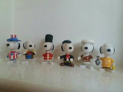 £5.50 • Buy McDonalds 6  World Tour 1999 Snoopy Toys Collectable