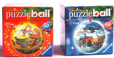 $17.99 • Buy Two Ravensburger Puzzle Ball Christmas Ornaments