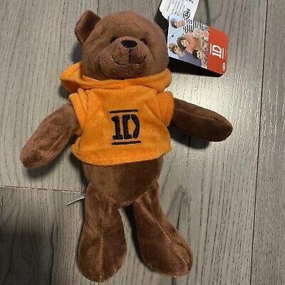 £18.99 • Buy 2012 One Direction Teddy Bear With Orange Hoodie Brand New With Tags RARE