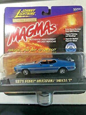 $49.99 • Buy Johnny Lightning Magmas Mustang TWO 1971 Mach 1 +  1971 Boss 351 1:43 Scale NEW