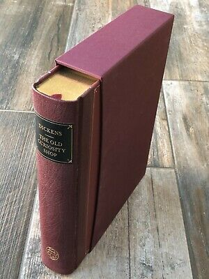 £60 • Buy The Old Curiosity Shop - Charles Dickens - Folio Society 2005 (Nonesuch)