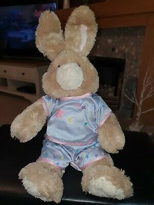 £6 • Buy Build A Bear Bunny Rare Rabbit Brown With Wired Ears Plush Teddy Easter