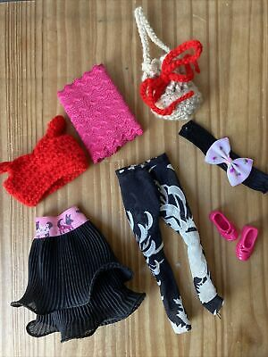 £5 • Buy New Dolls Clothes For Barbie, Two Outfits Tops, Skirt & Leggings & Accessories☁️