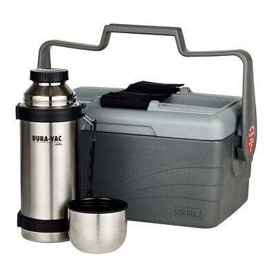 AU77 • Buy Thermos 6.6L Insulated Lunch Lugger/Container Box W/ 1L Stainless Steel Flask