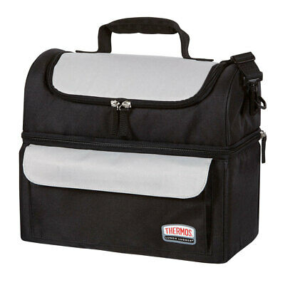 AU35 • Buy Thermos Insulated Dual Compartment Insulated Lunch Bag Lugger/Lunchbox Storage