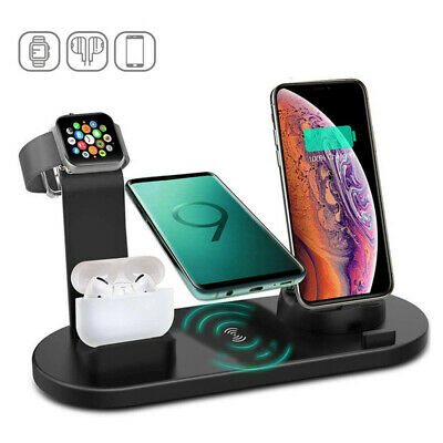 AU32 • Buy Qi Wireless Charger 4 In1 Charging Dock Station For AirPods Apple IWatch IPhone