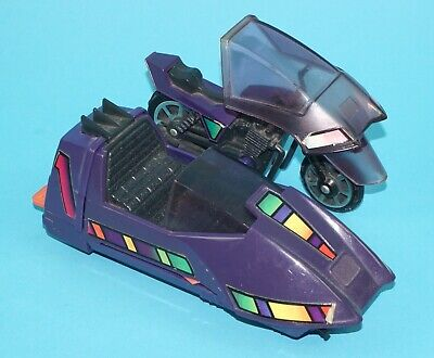 $18.17 • Buy M.A.S.K PIRANHA MOTORCYCLE & SIDECAR NEAR COMPLETE 1980s KENNER WORKS!