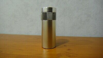 £707.99 • Buy Rare Vintage S T Dupont Table Lighter Cylinder Silver Plated