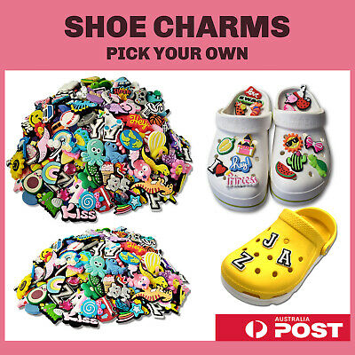 AU1.99 • Buy 220+ Shoe Charms | Fits All Shoes | Pick Your Own!!