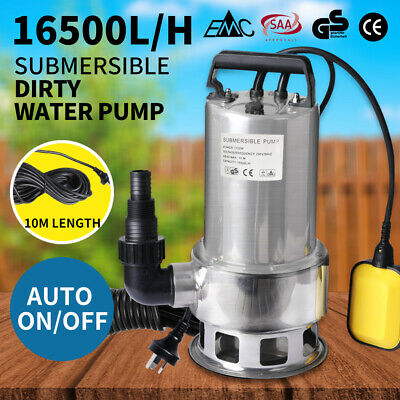 AU94.99 • Buy Water Pump Submersible 240V Electric Pressure Switch Tank Well Automatic Clean