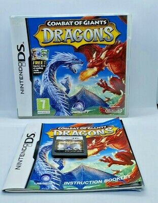 £3.99 • Buy Combat Of Giants: Dragons Video Game For Nintendo DS TESTED