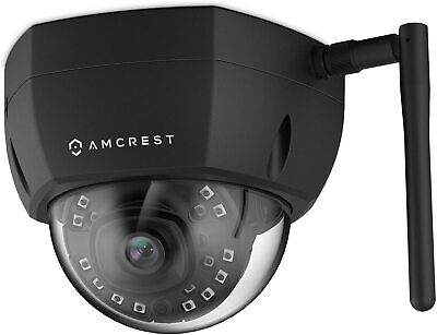 £24.99 • Buy Amcrest ProHD Outdoor 2 Megapixel WiFi Wireless Vandal Dome IP Security Camera -