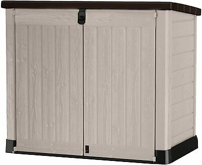 £184.99 • Buy Keter Store It Out MAX Garden Lockable Storage Box XL Shed Outside Bike Bin Tool