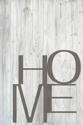 £33.91 • Buy Typography Words Letters - Home Poster Art Print (47x31in) #115329