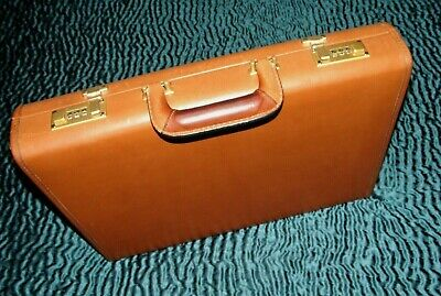 $349 • Buy Coach USA Glove Leather Briefcase: Excellent, Dual Locks, Early Coach Quality