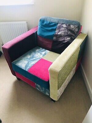 £90 • Buy Patchwork Arm Chair