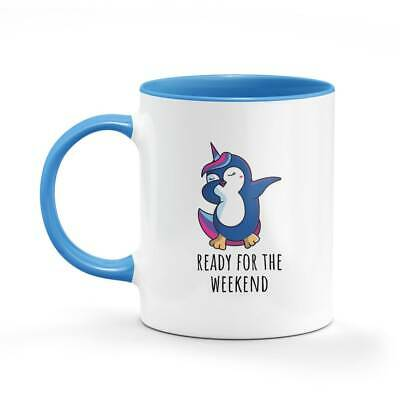 AU23.95 • Buy Penguin Dabbing Unicorn Funny Mug Office Gifts Coffee For Him Her