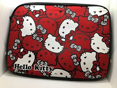 £46.51 • Buy Sanrio Hello Kittys Soft Zipper LapTop Case Fits Up To 13  Laptop Computer NEW