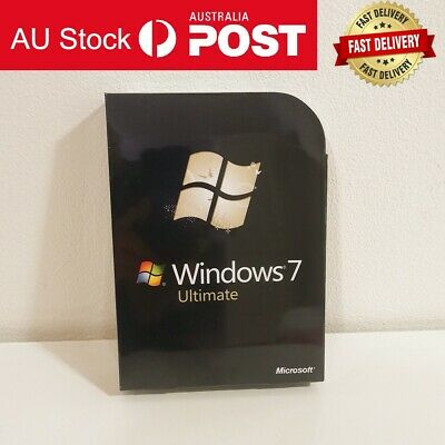 £68.56 • Buy Windows 7 Ultimate 32 & 64 Bit DVD With Product Key Sealed Box Packing