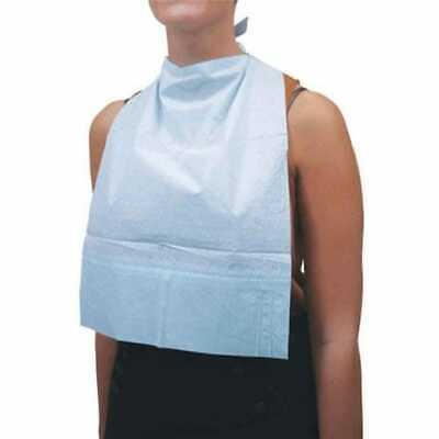 £14.39 • Buy Pack Of 125 Adult Disposable Feeding Bibs Adult Special Need Aid