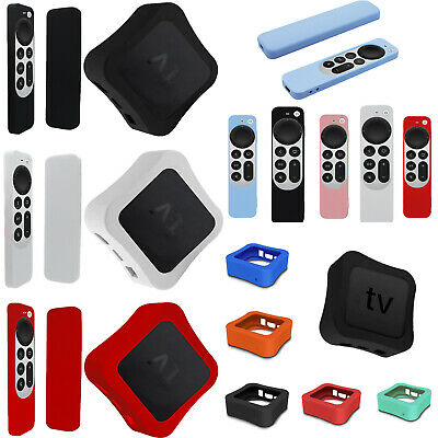 AU18.03 • Buy Silicone Sleeve Protective Case Cover For Apple TV2021 SetTop Box/Remote Control