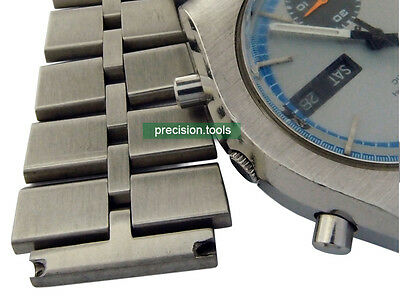 $ CDN49.83 • Buy 20mm Fishbone Solid Stainless Steel Replacement Bracelet For 6139-8020 Chrono