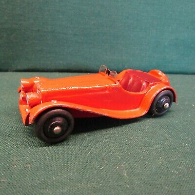 £22 • Buy DINKY TOYS ORIGINAL 38f JAGUAR SS 100 SPORTS CAR RED IN QUITE GOOD CONDITION