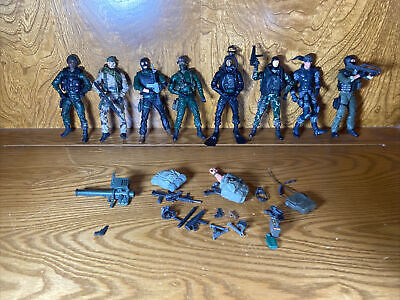 $90.99 • Buy Special Forces By ReSaurus Green Beret Mac Advisor Mission Lot 8 & Accessories