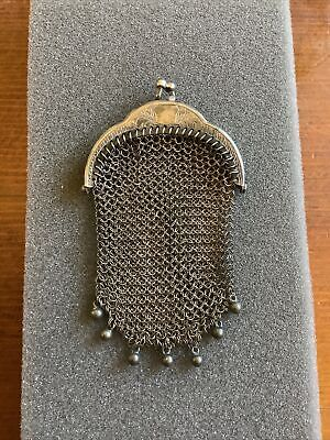 £24 • Buy Antique French Chainmail Chatelaine  1837-1901