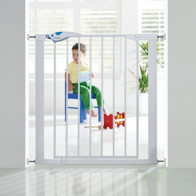 £19.95 • Buy Lindam Easy Fit Plus Deluxe Pressure Fit Safety Gate - 76-82 Cm, White