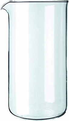 £14.38 • Buy Bodum Spare Beaker/Glass With Spout For Coffee Makers Transparent.