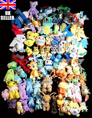 £7.99 • Buy UK POKEMON Go Plush Toy + FREE GIFT Collection SALE Over 80 Different Characters