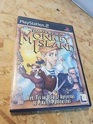 £7.95 • Buy Playstation 2 PS2 Game - Escape From Monkey Island - VGC Free UK PP